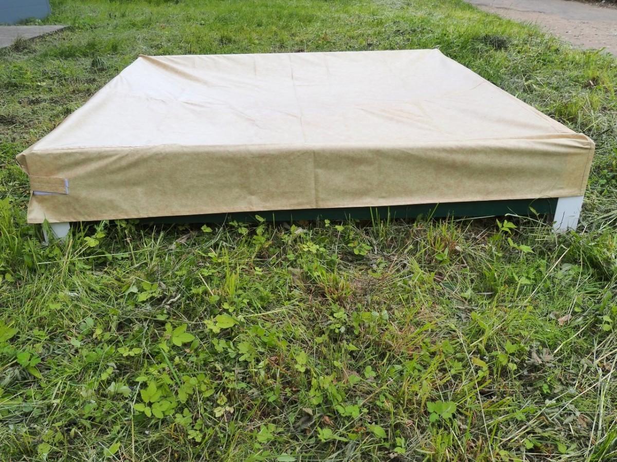 Защитный тент на компостер