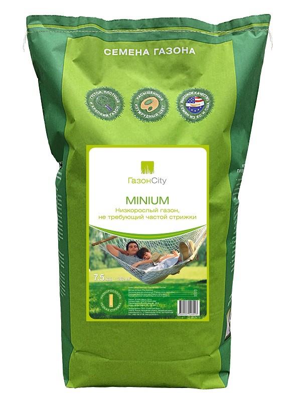 MINIUM 7,5 кг - низкорастущий газон европейского качества